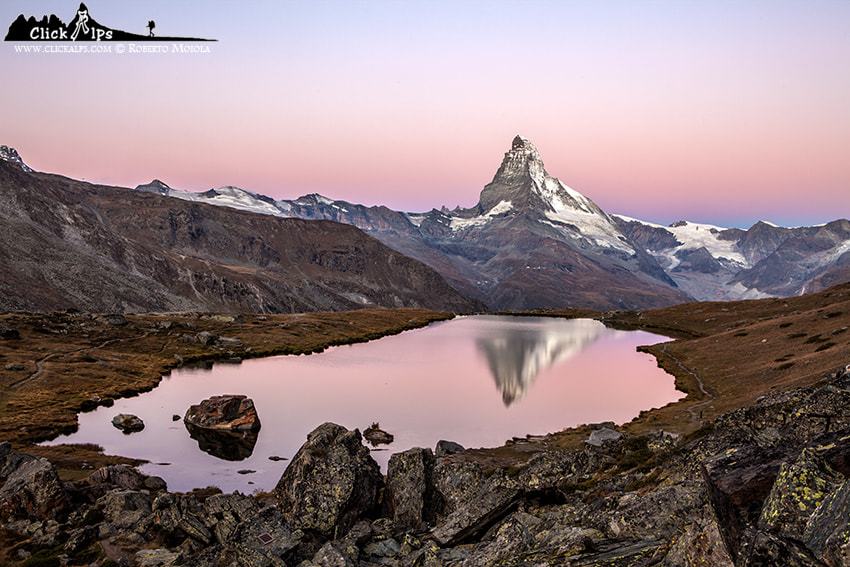 Photograph Pink Matterhorn by Roberto Sysa Moiola on 500px