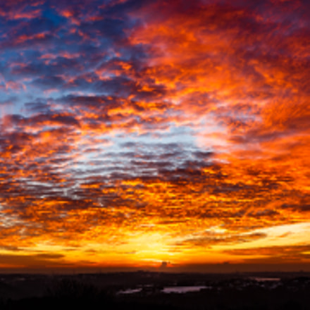 Sunset Clouds, Canon EOS 6D, Tamron SP AF 28-75mm f/2.8 XR Di LD Aspherical [IF] Macro