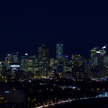 Calgary Downtown from the, Canon POWERSHOT SX530 HS