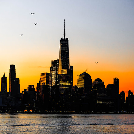 Freedom tower, Canon EOS 5D MARK III, Canon EF 70-200mm f/2.8L IS II USM