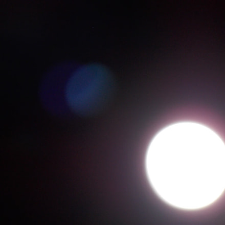 The Moon with company, Nikon COOLPIX L320