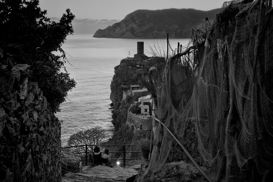 Dusk at Vernazza