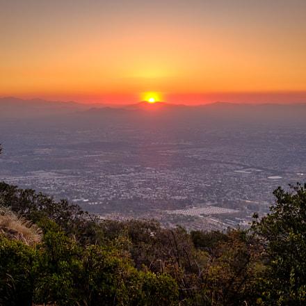 Sunset at Cerro La Cruz