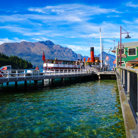 Steamer Wharf, Queenstown, Panasonic DMC-FT3