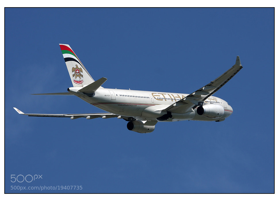 Photograph Etihad Airways Airbus A330-243 by Heiko  on 500px