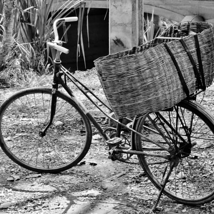 Just a bicycle., Sony DSC-HX30V