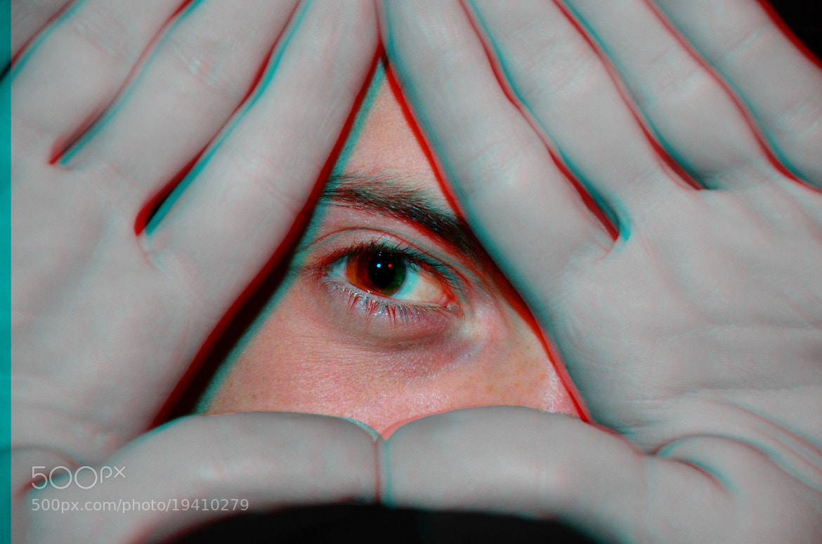 Photograph triangle with eye by dellaselvadirosa  on 500px