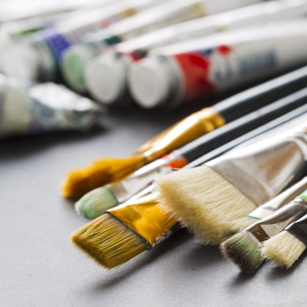 Paint brushes on the, Canon EOS-1D MARK IV, Canon EF 70-200mm f/2.8 L