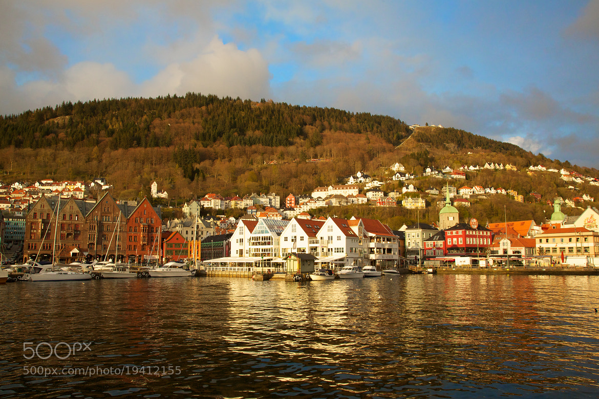 Photograph Bergen Sunset by Mohamed  Al Faris on 500px