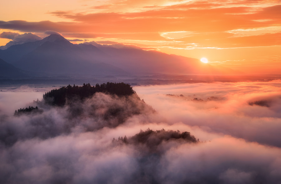 A Morning Above The Clouds by Daniel F.