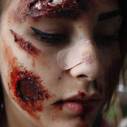 Maquillage artistique, Canon EOS 600D, Canon EF-S 18-55mm f/3.5-5.6 [II]