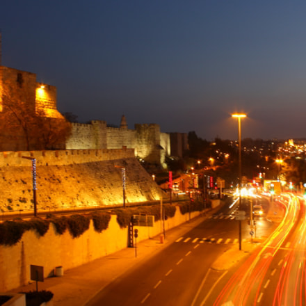 Jerusalem at night, Canon EOS 1200D, Canon EF-S 18-55mm f/3.5-5.6 III