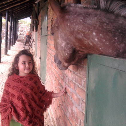 Elena and the horse, Samsung Galaxy Spica