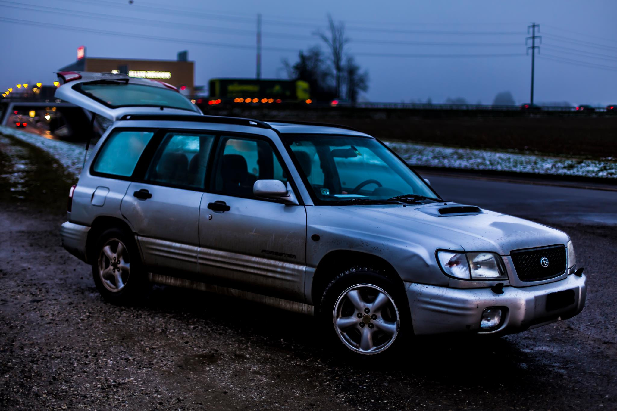Photograph Subaru Forester JG 2000 by Dominic Kurz on 500px