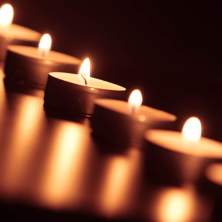 Candle, Canon EOS 70D, Canon EF 70-200mm f/2.8L IS
