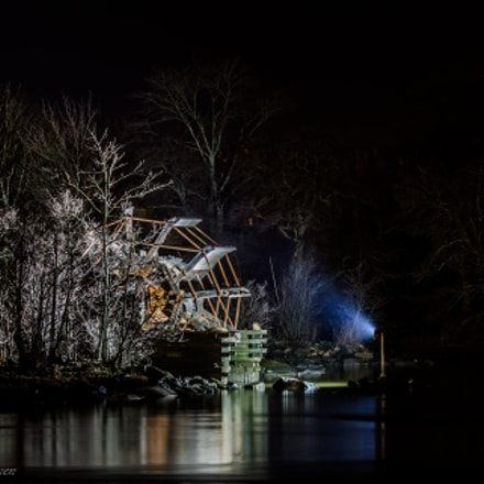 The watermill, Canon EOS 5D MARK II, Canon EF 135mm f/2L
