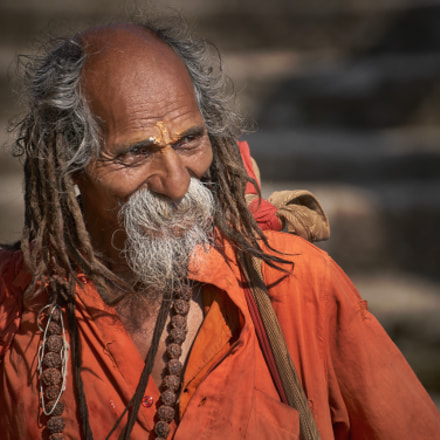Sadhu man, Sony SLT-A99, Tamron SP 70-300mm F4-5.6 Di USD