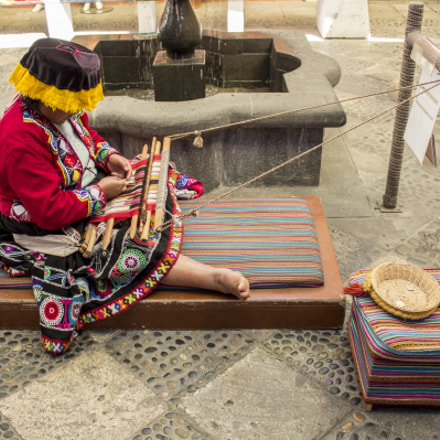 Womem from Arequipa, Canon EOS REBEL T5, Canon EF-S 18-55mm f/3.5-5.6 III