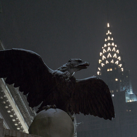 Wings Over Gotham, Sony ILCE-6000, Sony E 18-200mm F3.5-6.3 OSS LE