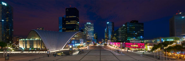 Photograph La Defense by night by Kristhian Mason on 500px