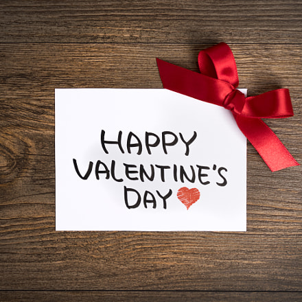 Valentines day greeting card, Sony ILCE-7M2, Sony FE 24-70mm F4 ZA OSS