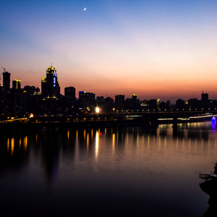 The night in chongqing, Canon EOS 60D, Canon EF-S 18-135mm f/3.5-5.6 IS
