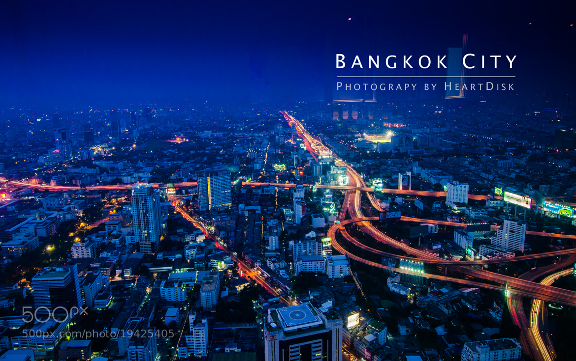 Photograph Bangkok City (Thailand) by Heart Disk on 500px