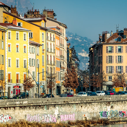 Grenoble (France), Canon EOS 760D, Canon EF 24-85mm f/3.5-4.5 USM