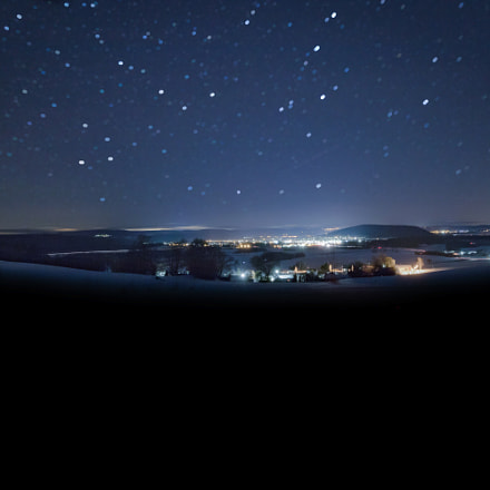 Nightsky over Neustadt, Canon EOS 760D, Canon EF-S 10-18mm f/4.5-5.6 IS STM