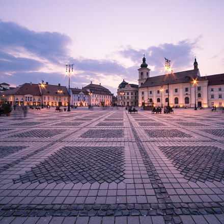 Great Square in Sibiu, Canon EOS 6D, Sigma 12-24mm f/4.5-5.6 EX DG ASPHERICAL HSM