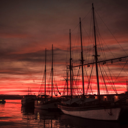 Sunset in Harbor vol. 3, Canon EOS 7D, Sigma 18-35mm f/1.8 DC HSM