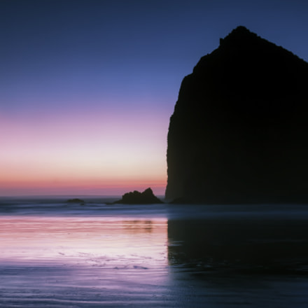 Haystack Rock, Canon EOS 50D, Canon EF 24-105mm f/4L IS