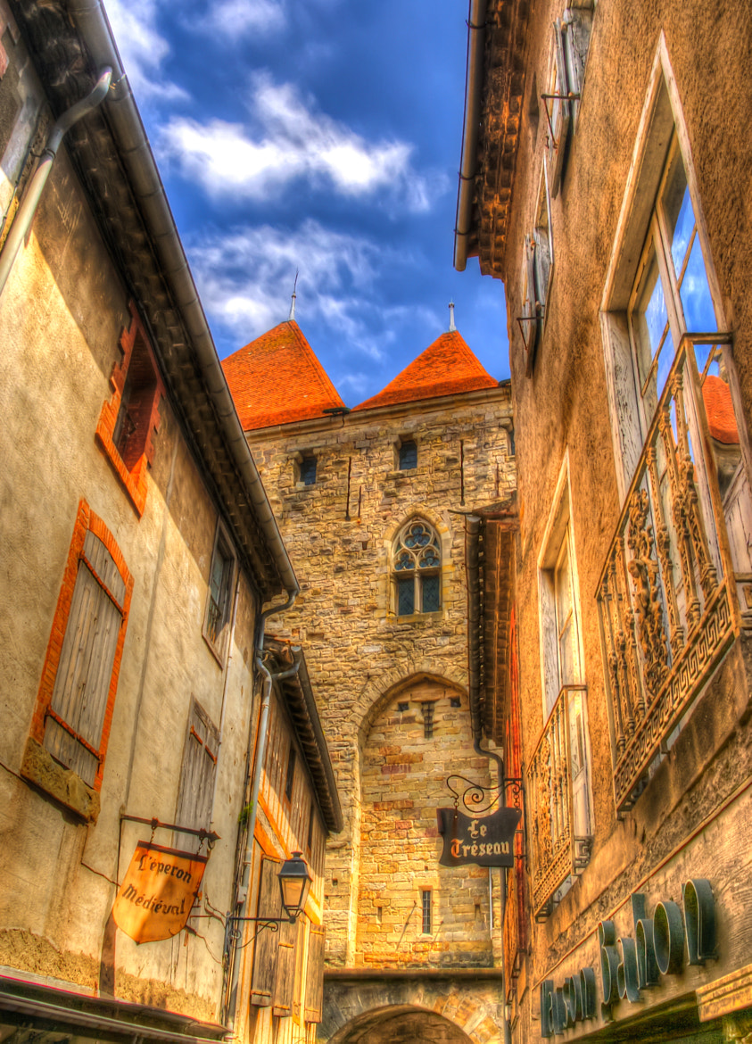 Photograph Carcassonne Alley by Tim Firkins on 500px