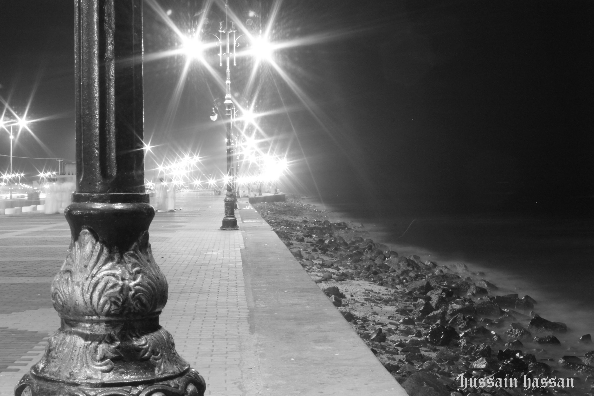 Photograph Night life at the beach by Hussain Shaikh on 500px