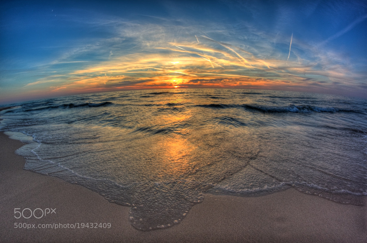 Photograph Sunset Over Lake Michigan by Alex Cohen on 500px