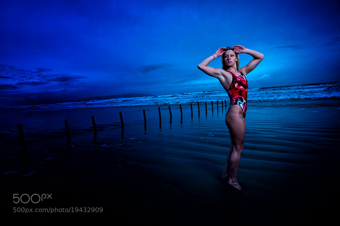 Photograph Swimmer Bethany Carson by Russell Pritchard on 500px