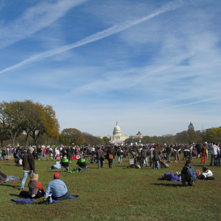 A Rally For Sanity, Canon POWERSHOT A720 IS