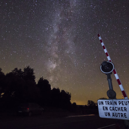 Milky way in France, Canon EOS 600D, Sigma 10-20mm f/4-5.6