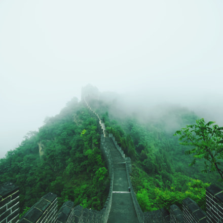 Great Wall, Canon EOS REBEL T2I, Sigma 10-20mm f/4-5.6