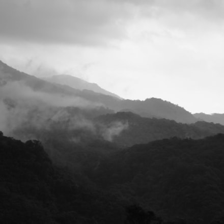 Vietnam Mountains BW, Sony DSC-WX5