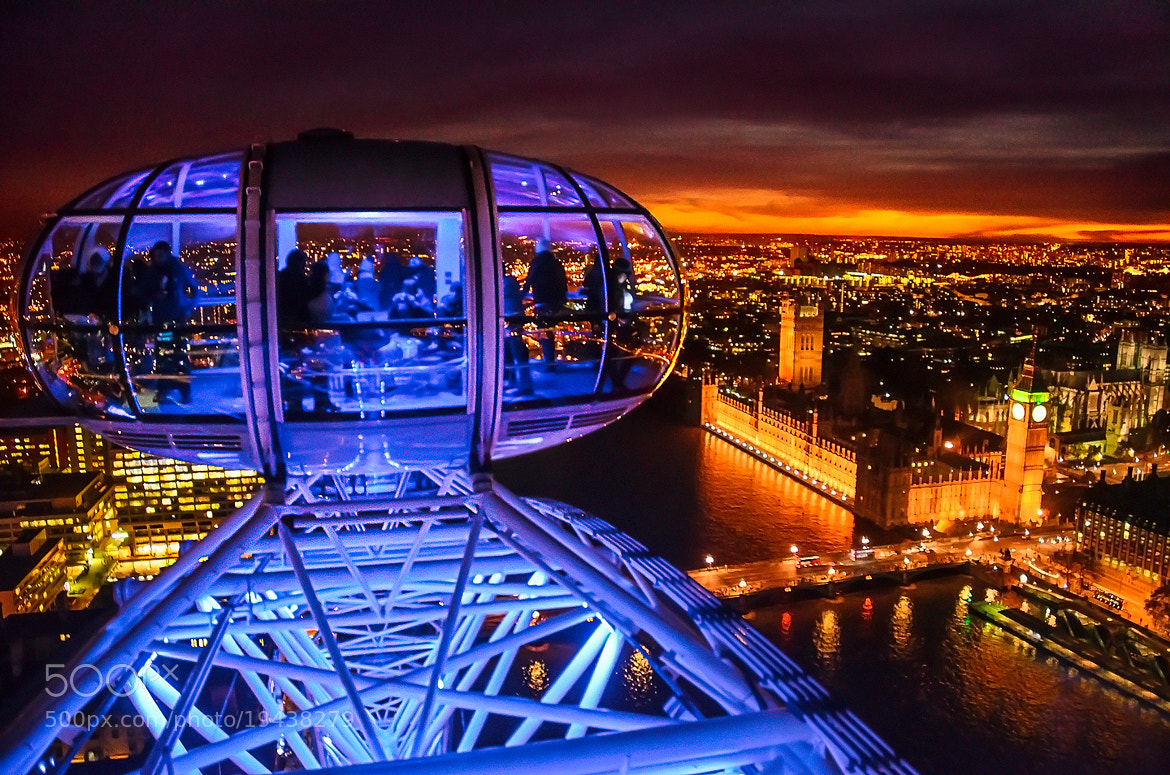 Photograph Top of London Eye by Mike Lesaski on 500px