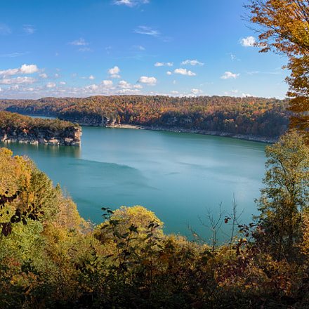 Summersville Lake, Canon EOS 70D, Canon EF 15mm f/2.8 Fisheye