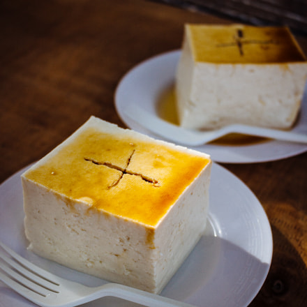 Fresh TOFU, Canon EOS KISS X7, Canon EF-S 18-55mm f/3.5-5.6 IS STM