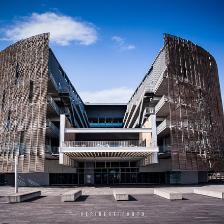 Barcelona Biomedical Research Park, Canon EOS 50D, Canon EF 15mm f/2.8 Fisheye