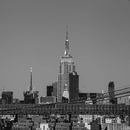 Empire State Building, Canon EOS 6D, Tamron AF 70-300mm f/4-5.6 Di LD 1:2 Macro