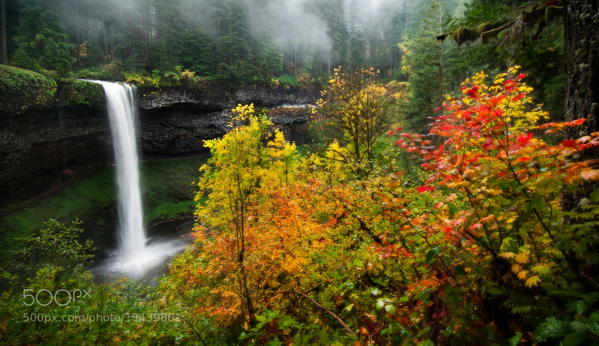 Photograph South Falls by Jay D. on 500px