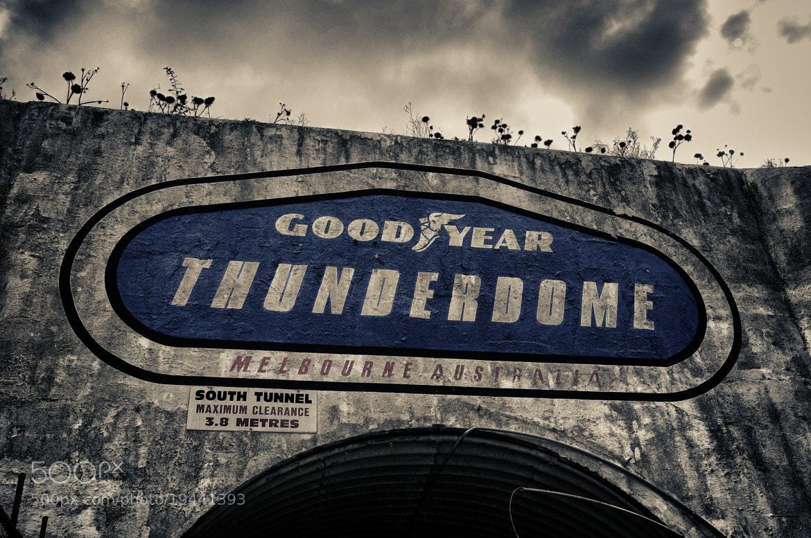 Photograph Old Sign at the Calder Park Thunderdome by Joel Strickland on 500px