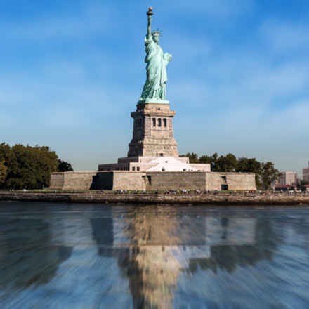 Statue of Liberty, New, Canon EOS 700D, Canon EF-S 18-55mm f/3.5-5.6 IS STM