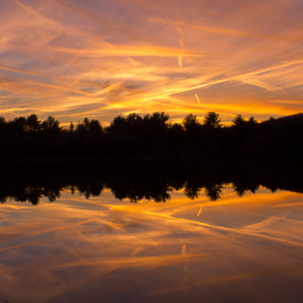 Crazy sunset , Canon EOS REBEL T3, Canon EF-S 18-55mm f/3.5-5.6 IS II