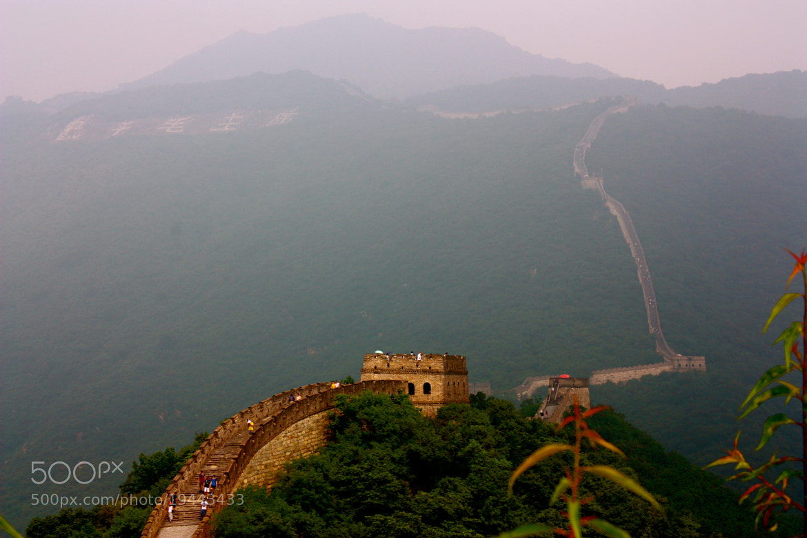 Photograph The Great Wall by Annie Kadavy on 500px